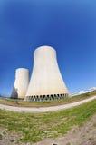 elektrowni nuklearnej władzy temelin Fotografia Stock