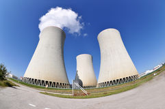 elektrowni nuklearnej władzy temelin Zdjęcia Royalty Free