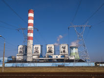 elektrownia Zdjęcia Royalty Free