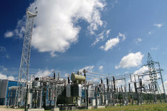 elektrownia obraz stock