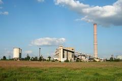 elektrownia Fotografia Stock