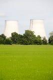 elektrownia atomowa Obrazy Royalty Free