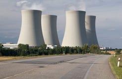 elektrownia atomowa Obraz Royalty Free