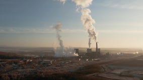 Elektrownia dym zdjęcie wideo