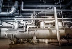 Elektrownia fajczany system Zdjęcie Stock