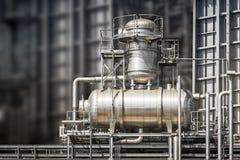 Elektrownia fajczany system Zdjęcia Stock