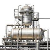 Elektrownia fajczany system odizolowywający Obraz Stock