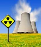 Elektrownia jądrowa Zdjęcie Royalty Free