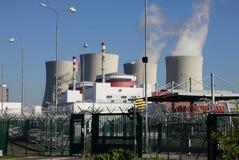 Elektrownia jądrowa Temelin w republika czech Europa Zdjęcia Royalty Free