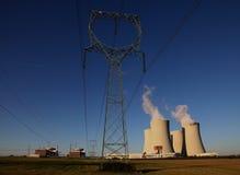 Elektrownia jądrowa Temelin w republika czech Europa Fotografia Royalty Free