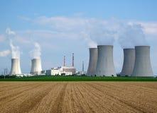 elektrownia jądrowa Fotografia Royalty Free