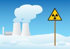 elektrownia jądrowa ilustracji