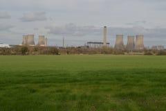 Elektrownia jądrowa, Didcot. Anglia zdjęcie stock