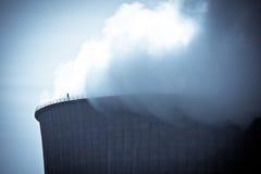 Elektrownia Nuklearna Obraz Stock