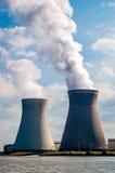 Elektrownia nuklearna, Belgia Zdjęcia Royalty Free