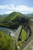 Elektrownia przy tamą w Tajlandia Zdjęcie Royalty Free