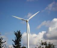 Elektrownia, turntable Siły wiatru roślina zdjęcia stock