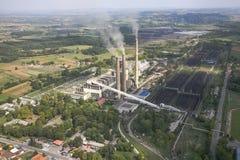 Elektrownia w kopalni węgla Obraz Stock