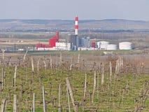 Elektrownia w Theiss, Niski Austria Obraz Stock
