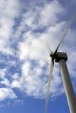 elektrownia wiatr Zdjęcia Royalty Free