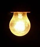 Elektryczna żarówka obraz royalty free