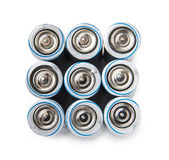 Elektryczna bateria AA Obraz Royalty Free