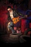 Elektryczna gitara Obraz Royalty Free