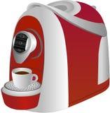Elektryczna kawowa maszyna Fotografia Stock