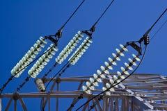 elektryczna kreskowa władza Obrazy Stock