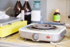 elektryczna kuchenka zdjęcia stock