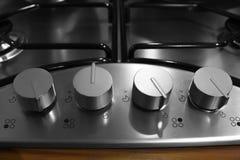 Elektryczna kuchennej kuchenki kontrolna zmiana Zdjęcia Royalty Free