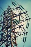 elektryczna linia wierza Zdjęcie Stock