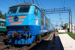 Elektryczna lokomotywa Zdjęcie Stock