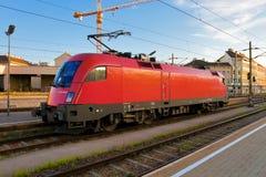 elektryczna lokomotywa Obraz Stock