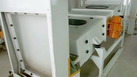 Elektryczna młyńska maszyneria dla produkci pszeniczna mąka Zbożowy wyposażenie zbiory wideo
