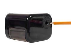 elektryczna ołówkowa ostrzarka Obrazy Royalty Free