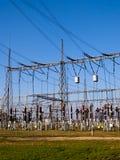 elektryczna podstacja Fotografia Royalty Free