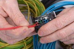 Elektryczna praca Obraz Stock