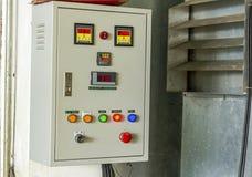 Elektryczna pulpit operatora deska Zdjęcie Stock