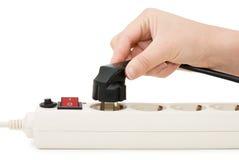 elektryczna ręki prymki nasadka Obraz Royalty Free
