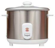 Elektryczna ryżowa kuchenka odizolowywająca na białym tle Obraz Stock
