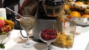 Elektryczna sok maszyna zdjęcie wideo