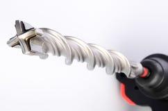 Elektryczna wiertnicza maszyna na tle Obraz Royalty Free