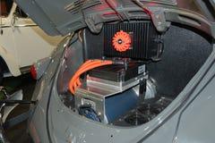 Elektryczna wolkswagena rocznika klasyka ściga Zdjęcie Stock