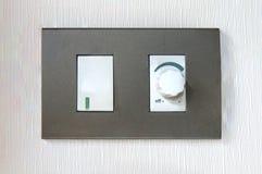 Elektryczna zmiana i kontrola dołączający zdjęcie stock