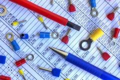 Elektryczne części Obrazy Stock