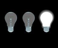 elektryczne lampy ilustracja wektor