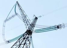 Elektryczne podstacje w lifes osoba Fotografia Stock