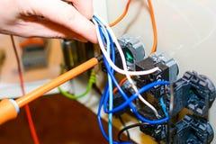 Elektryczne rzeczy Fotografia Royalty Free