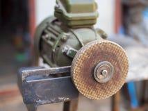 Elektryczne szlifierskiej maszyny metalu części Zdjęcie Stock